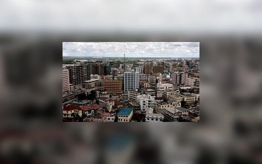 В Танзании обрушилось многоэтажное здание, есть жертвы
