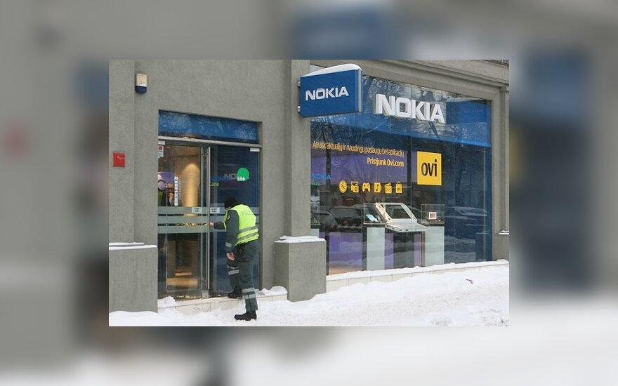 В Вильнюсе ограбили магазин Nokia Care