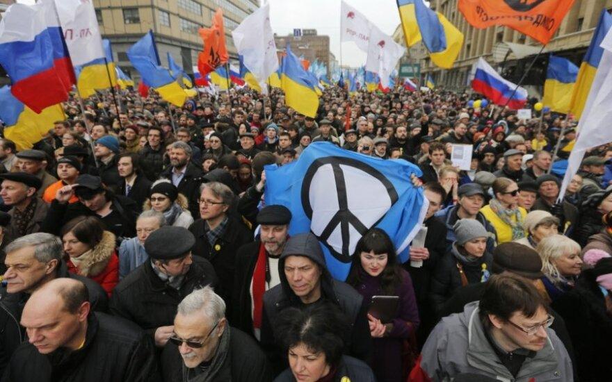 Taikos maršas Maskvoje