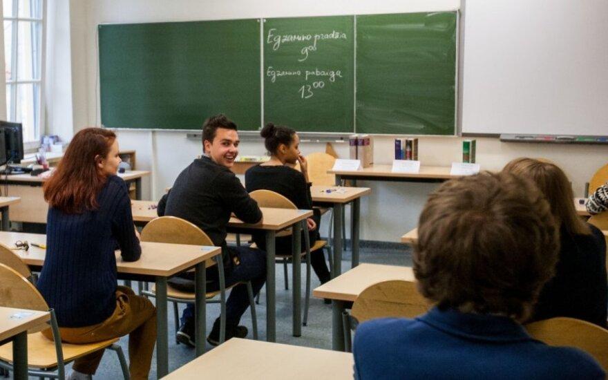 Вице-министр: каждый абитуриент должен достаточно хорошо знать литовский язык