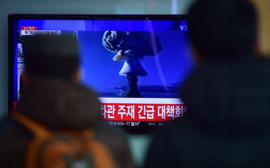 Южная Корея: запись запуска ракеты КНДР сфабрикована