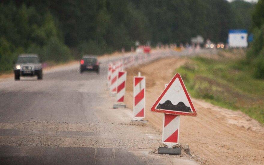 На отдельных участках Via Baltica ограничат движение: предупреждают о заторах