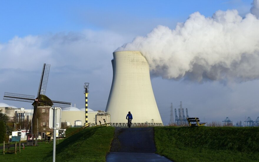 На самой мощной АЭС в Бельгии отключен энергоблок