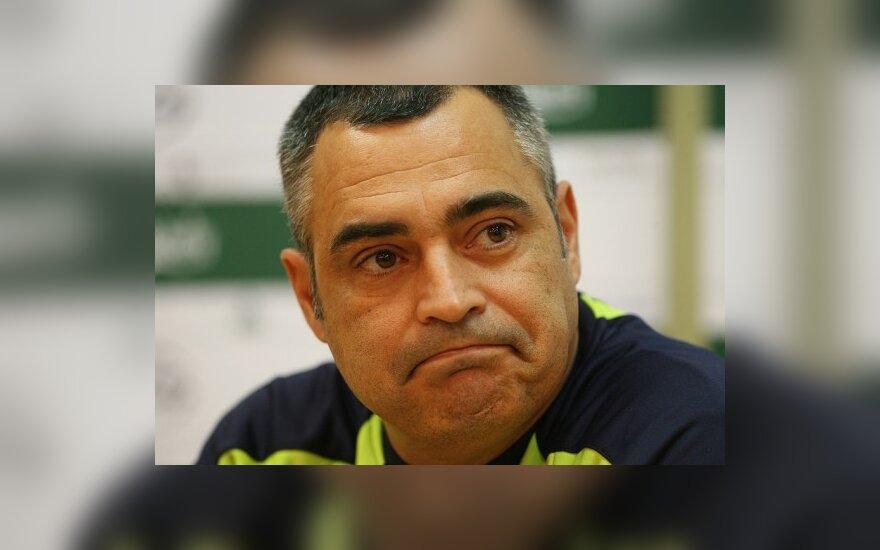 На место тренера литовской сборной – ряд претендентов
