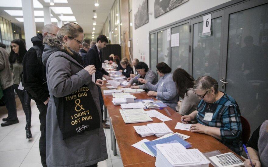В Литве проходит досрочное голосование на муниципальных выборах