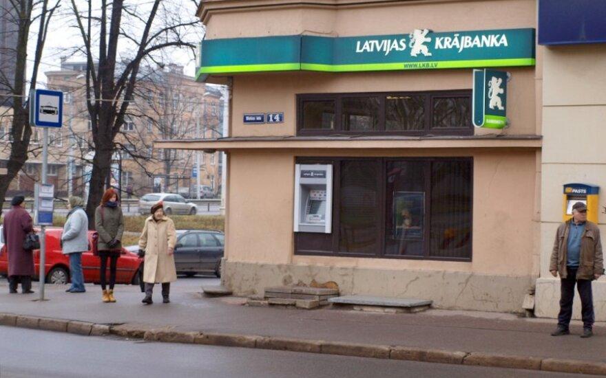 Миллионы Krājbanka заложены в банках СНГ и Европы