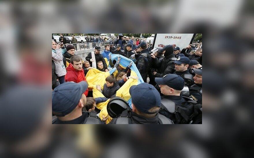 """В ходе маршей """"Бессмертный полк"""" в городах Украины произошли стычки"""