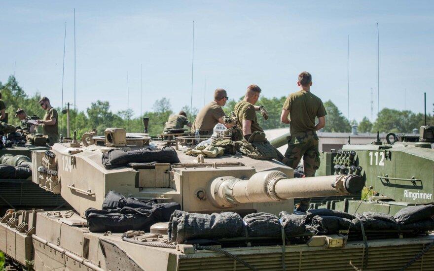 В учениях в Латвии примут участие тысячи солдат НАТО, самолеты и бронетехника