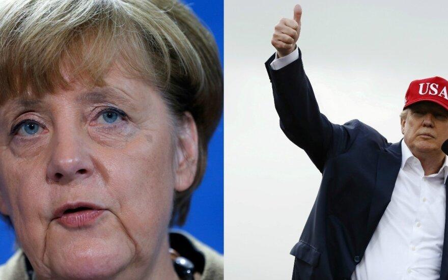 Меркель и Трамп: противоположности не притягиваются