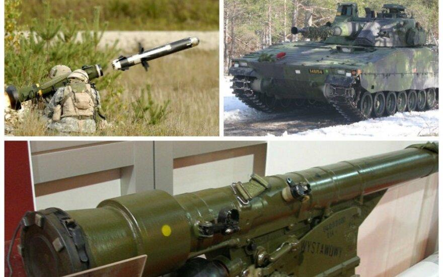 Страны Балтии вооружаются: что в 2014-м году закупали Латвия, Литва и Эстония