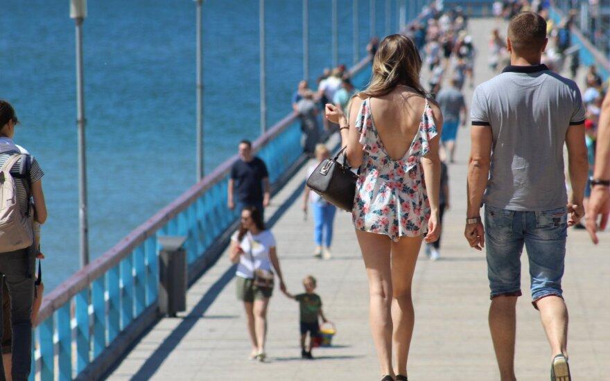 Поток иностранных туристов в Литве может сократиться на 40%, местных – на 25%