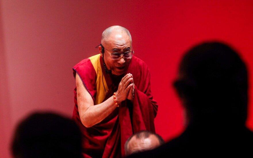 Далай-лама в Литве: для меня важнее увидеть людей, а не руководителей государства