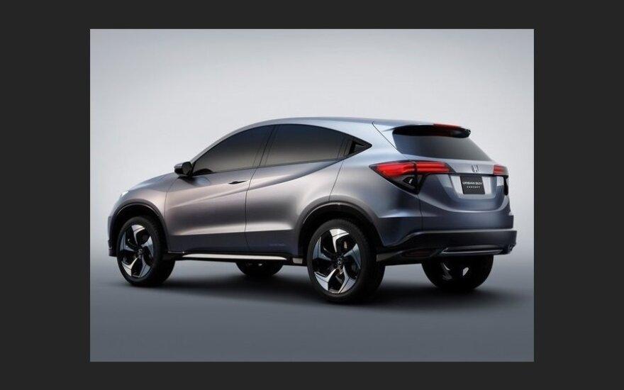 Детройт-2013: Honda показала преемника кроссовера HR-V
