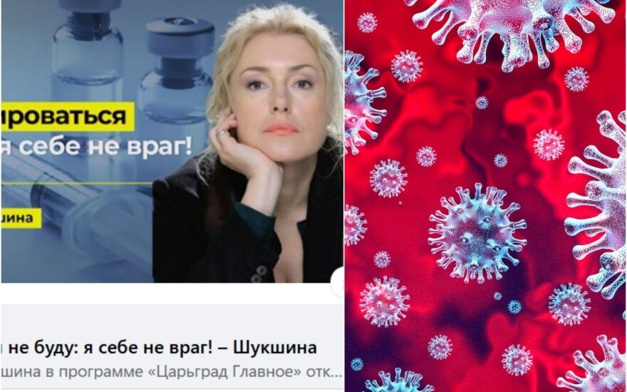 Известная актриса из России распространяет фейки: коронавирус – оружие против России