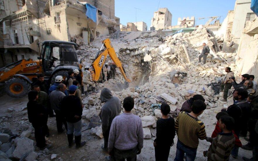Дамаск заявил об израильском ударе по пригороду Алеппо