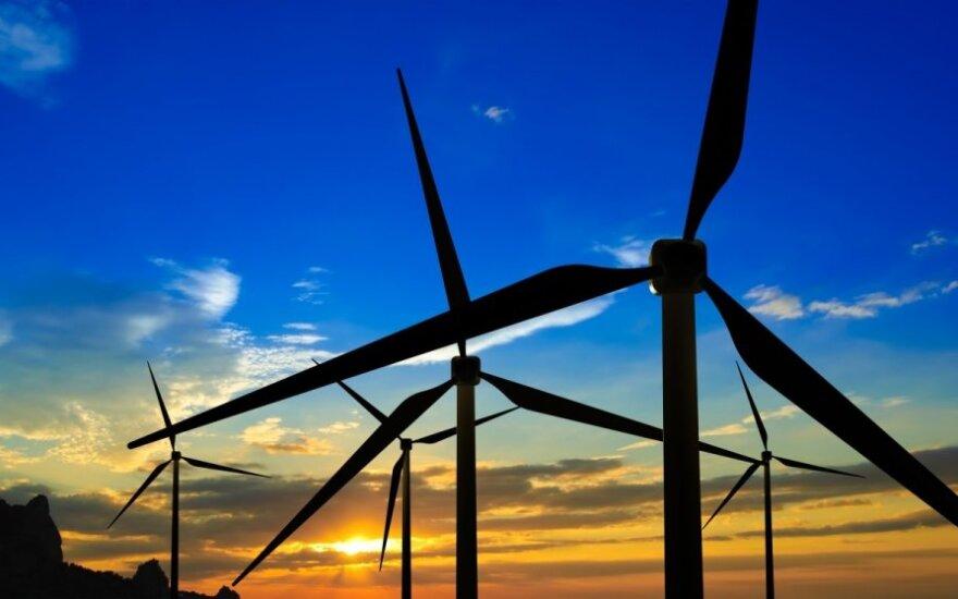 Vėjo jėgainės pagamino panašiai el. energijos kaip ir pernai tuo pačiu laikotarpiu