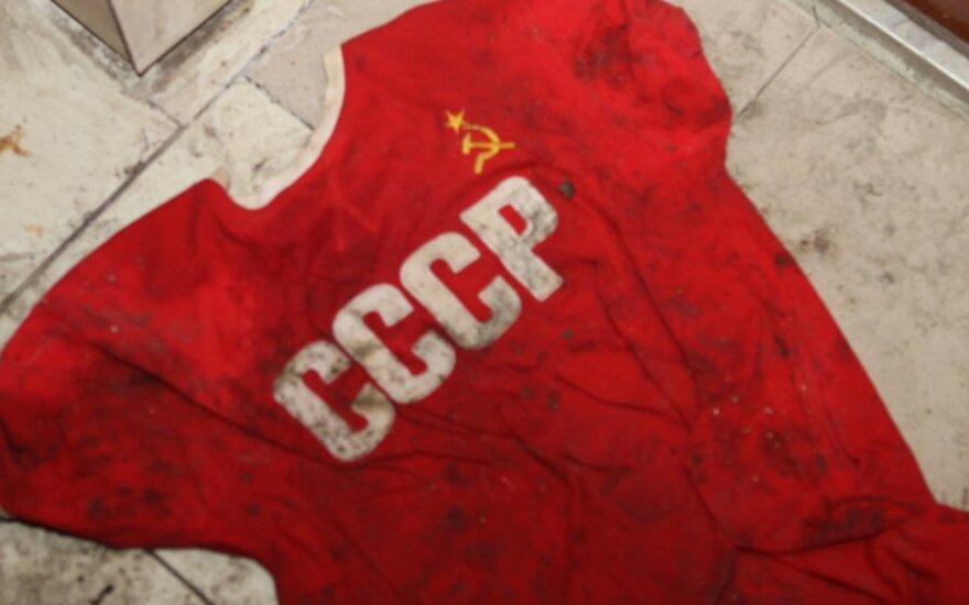 Запись в документах литовцев: СССР