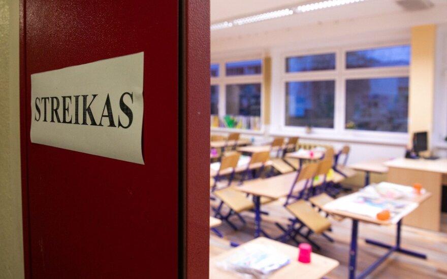 Забастовка учителей в Литве разрастается: присоединяются еще 10 школ