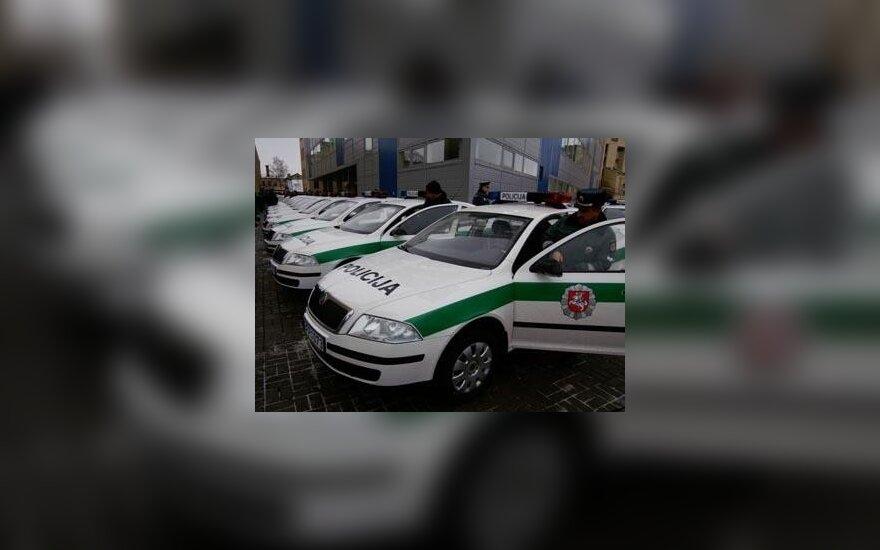 "Policijos departamento ""Škoda Octavia"" automobiliai"