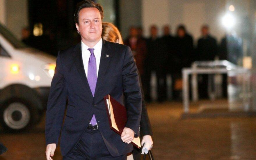 Brytyjski premier nie pojedzie na Olimpiadę w Soczi