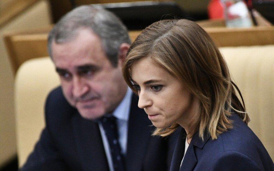 Литва добилась объявления санкций ЕС шести депутатам Госдумы РФ из Крыма