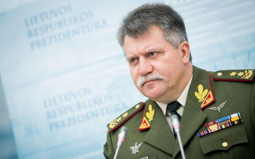 Главнокомандующим ВС Литвы назначен Йонас Витаутас Жукас