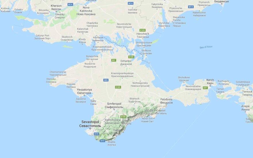 Krymo žemėlapis