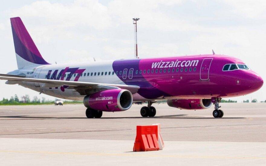 Wizz Air резко сократит количество полетов из Литвы