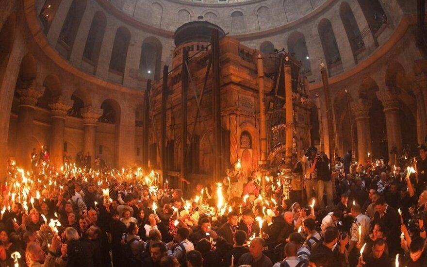 РПЦ разъяснила ситуацию с Благодатным огнем после церковного раскола