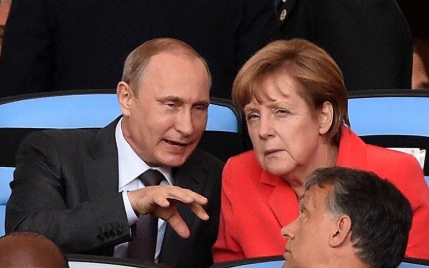 Kanclerz Niemiec zamierza kontynuować dialog z prezydentem Rosji