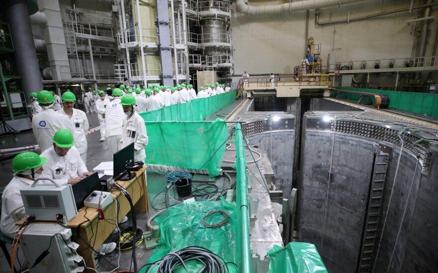 Беларусь информировала Литву о том, что выработка электроэнергии на БелАЭС начнется в ноябре