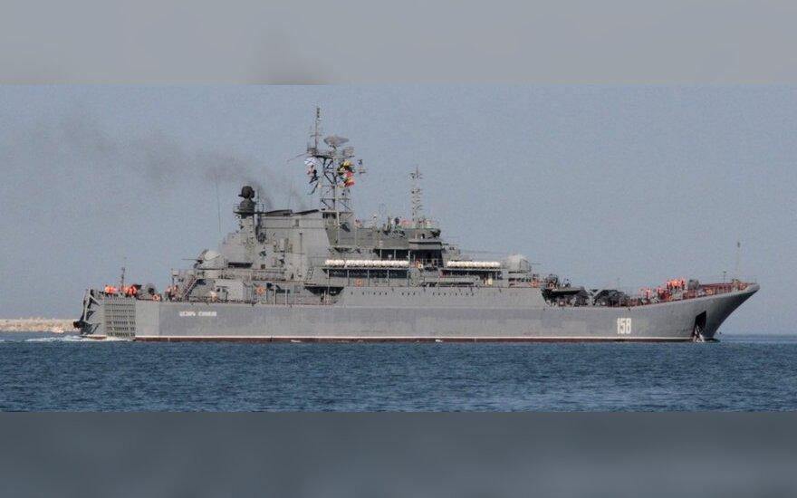 Корабли Черноморского флота вернулись в Севастополь после внезапных учений