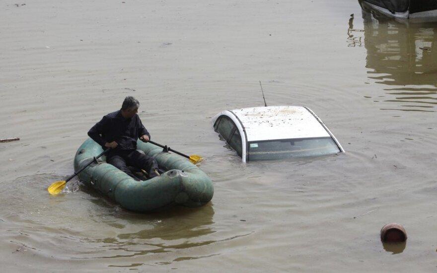 Tbilisį užklupo potvynis