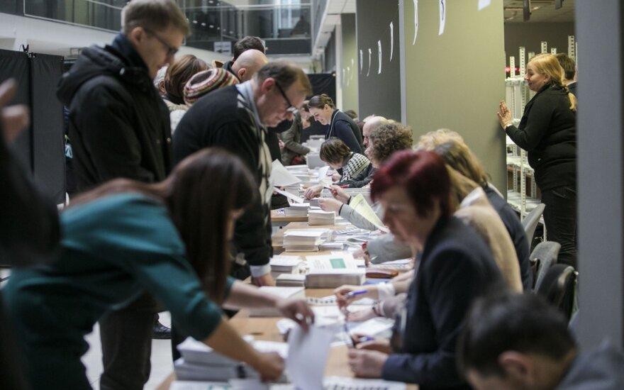 Досрочно на муниципальных выборах в Литве проголосовали 3,2% избирателей