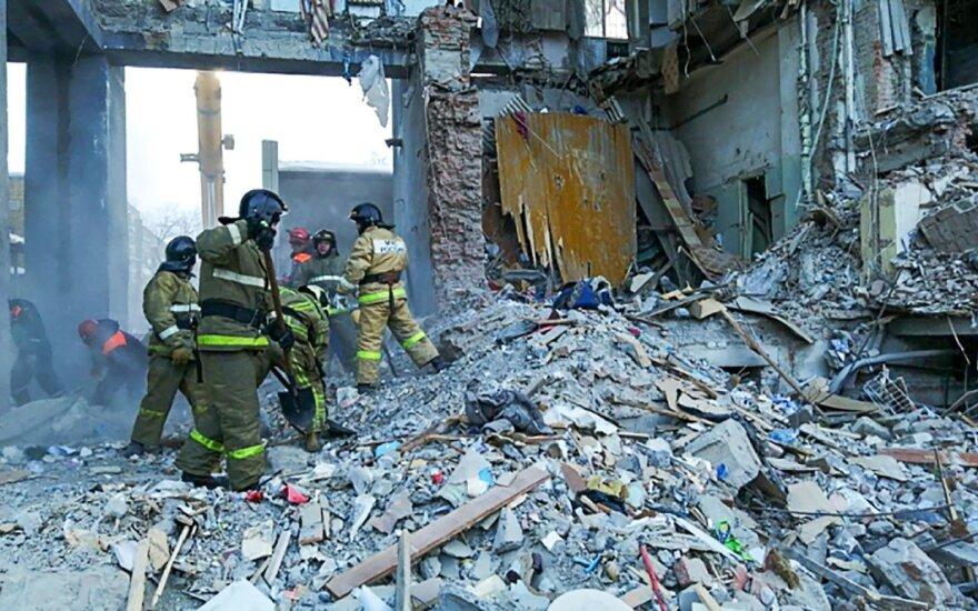 В подмосковном Орехово-Зуево обрушился подъезд жилого дома