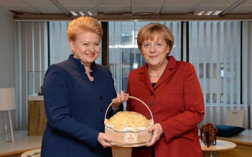 Dalia Grybauskaitė, Angela Merkel