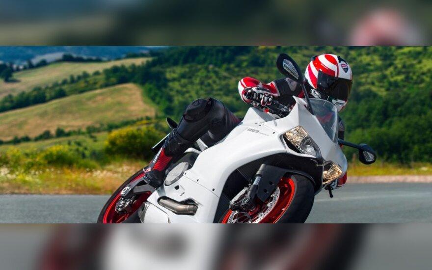 Skradziony w Londynie motocykl w ciągu 48 godzin znaleziono na Litwie