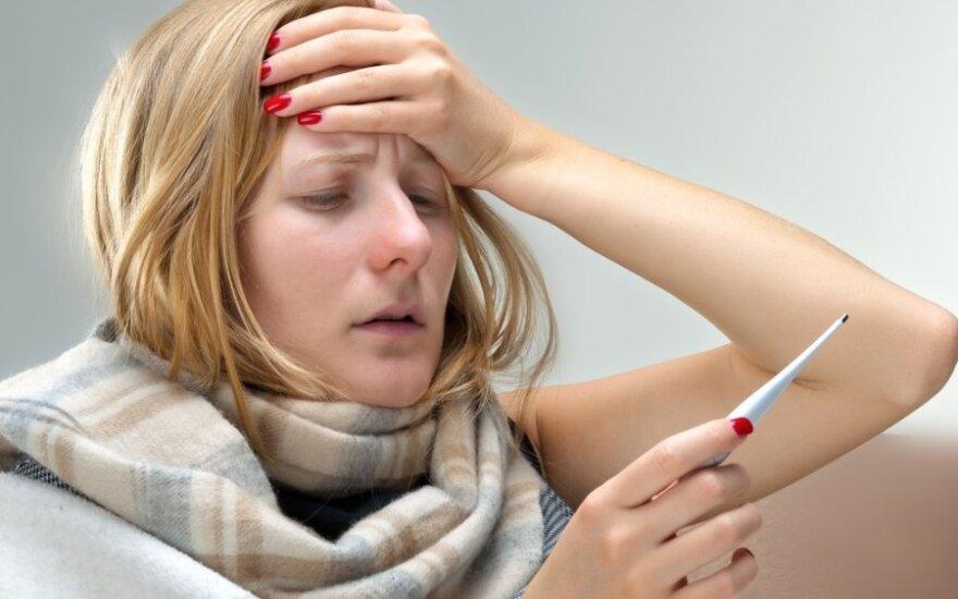 В Литву пришел грипп: 12 самоуправлений - на грани эпидемии