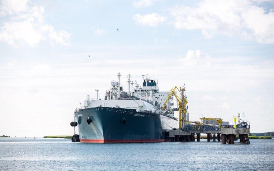 В Клайпеду идет новый крупный груз СПГ из Норвегии