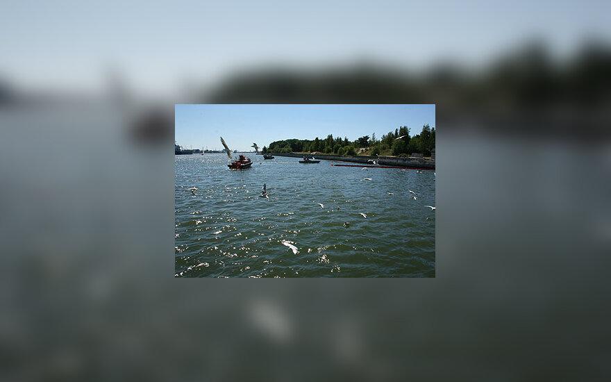 Klaipėdos uosto teritorijoje išsiliejo kuras