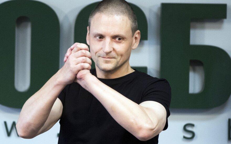 Удальцова вызвали на допрос спустя месяц после выхода из колонии