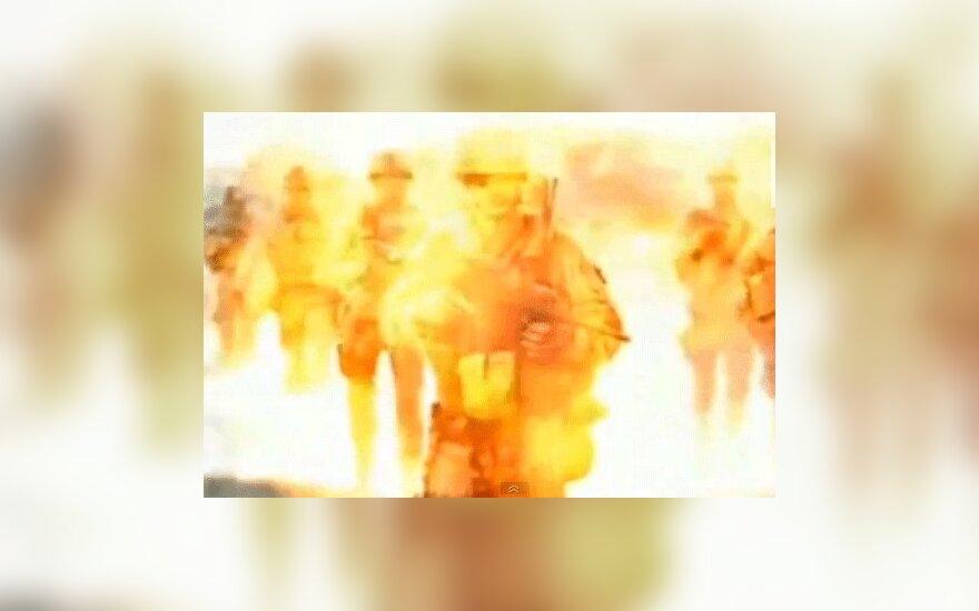 Северная Корея показала Барака Обаму в ядерном аду