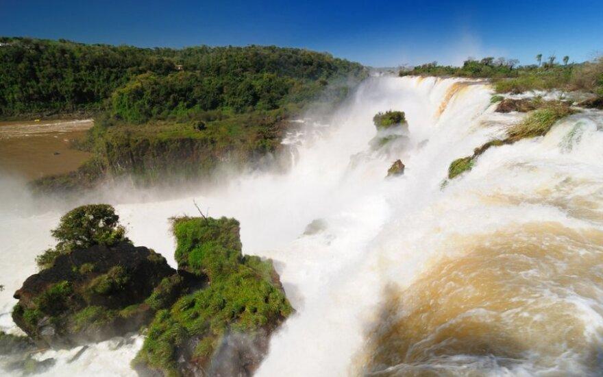 Iguazu parko kriokliai