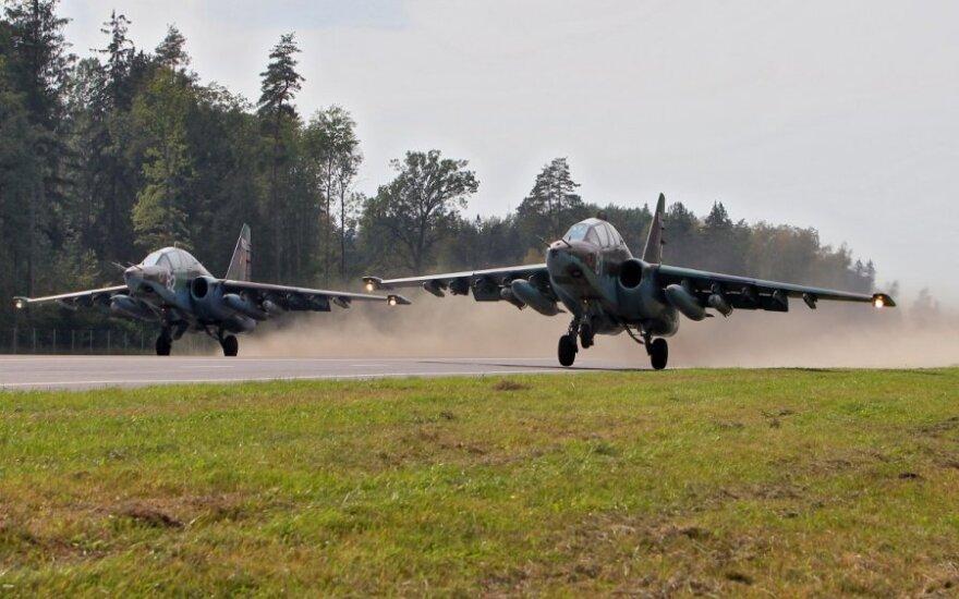 Karinės pratybos Baltarusijoje