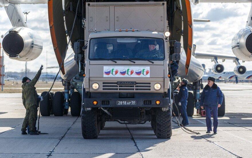 Итальянские СМИ: 80% привезенной из России помощи бесполезна - стараются ради снятия санкций