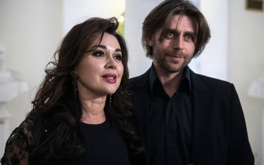 Anastasija Zavorotniuk su vyru Piotru Chernyshevu