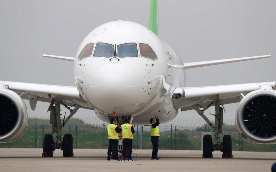 Китайский самолет-конкурент Boeing совершил первый полет