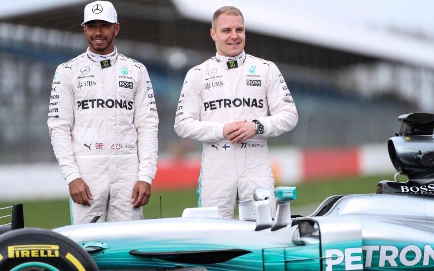 Lewisas Hamiltonas, Valtteri Bottas