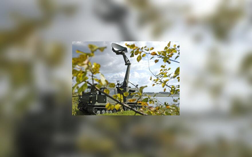 "Apžvalgos radaras ""Giraffe MK-IV"""