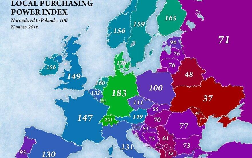 Indeks siły nabywczej . Foto: jakubmarian.com